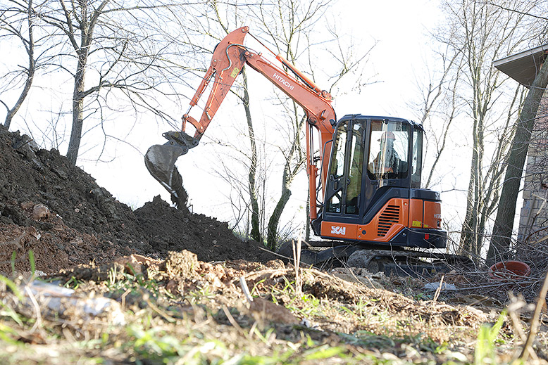 Mini Excavators Hitachi Construction Machinery