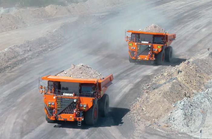 The FMS, a mining operations management system