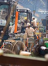 写真:事業活動の環境負荷削減