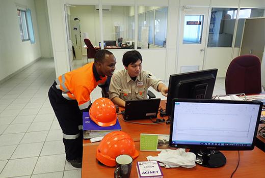 写真:HCMZの従業員1