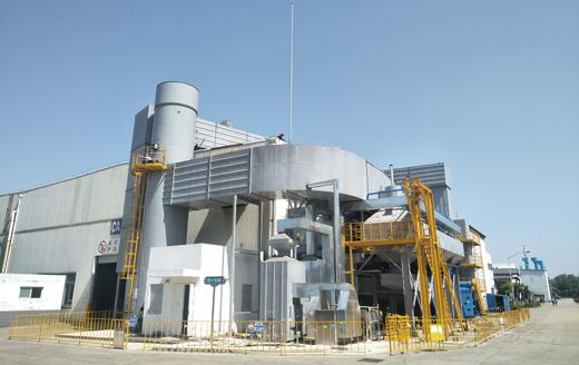 日立建機(中国)のVOCガス浄化・脱臭装置設備