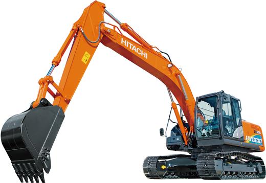 ZH200-6 hybrid hydraulic excavator