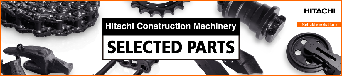 Hitachi Construction Machinery Selected Parts