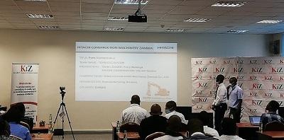 Remanufacturing Workshop Kaizen Activities Win Highest Platinum Award at International Convention on QC Circles (Hitachi Construction Machinery Zambia)