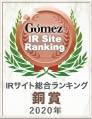 Gomez / IRサイト総合ランキング