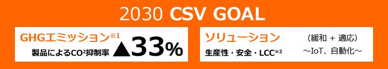 CSVの長期目標
